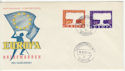 1957-09-16 Germany Europa Stamps FDC (65878)