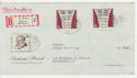 1959 Germany Berlin Stamps Use on Cover (65991)
