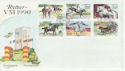 1990-05-15 Sweden Horse Stamps FDC (65996)