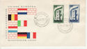 1956-09-15 Italy Europa Stamps FDC (65998)