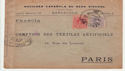 1917 Envelope from Spain to France (66013)