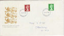 1985-10-29 Definitive Stamps London FDC (66043)
