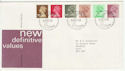1982-01-27 Definitive Stamps Bureau FDC (66045)