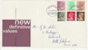 1982-01-27 Definitive Stamps Darlington FDC (66046)