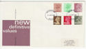 1982-01-27 Definitive Stamps Redhill FDC (66048)