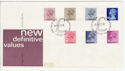 1983-03-30 Definitive Stamps Windsor FDC (66061)