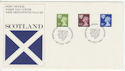 1980-07-23 Scotland Definitive Stamps Edinburgh FDC (66067)