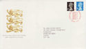1989-08-22 Definitive Booklet Stamps Windsor FDC (66092)