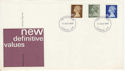 1979-08-15 Definitive Stamps London FDC (66098)