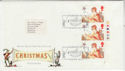 1985-11-19 Christmas Stamps T/L Margin London FDC (66140)