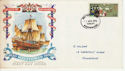 1970-04-01 Mayflower Stamp Paisley FDC (66175)