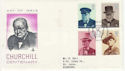 1974-10-09 Churchill Stamps HOC London FDC (66191)