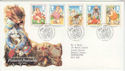 1994-04-12 Pictorial Postcards Stamps Bureau FDC (66192)