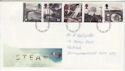 1994-01-18 The Age of Steam Railway Stamps FDC (66207)