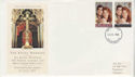 1986-07-22 Royal Wedding Stamps Stoke FDC (66214)