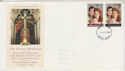1986-07-22 Royal Wedding Stamps Devon FDC (66215)
