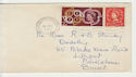 1961 QEII Wilding Stamp + CEPT Used on Cover (66278)