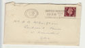 1938 KGVI Stamp British Industries Fairs Slogan (66295)
