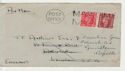 KGVI Stamp Post Office Maritime Mail Pmk (66301)