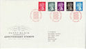 1990-01-10 Penny Black Anniversary Stamps Windsor FDC (66318)