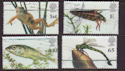 2001-07-10 Pond Life Stamps Cheap Used Set (66359)