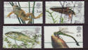 2001-07-10 Pond Life Stamps Cheap Used Set (66361)
