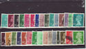 GB Definitive Machin Used Stamps x30 (66374)