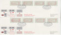 1984-05-01 Postage Labels Stamps Windsor 32v x8 FDC (66377)