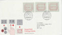 1984-05-01 Postage Labels Stamps Windsor FDC (66394)