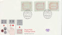 1984-05-01 Postage Labels Stamps Windsor FDC (66395)