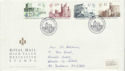 1988-10-18 Definitive Castles Stamps Windsor FDC (66398)