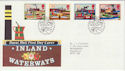 1993-07-20 Inland Waterways Stamps Bureau FDC (66404)