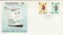1979-05-16 IOM Europa Postal Service Stamps FDC (66406)