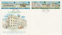 1987-04-29 IOM Europa Architecture Stamps FDC (66421)
