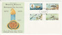 1979-02-27 IOM Natural History Stamps FDC (66428)