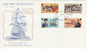 1979-10-19 IOM Captain John Quilliam Stamps FDC (66430)