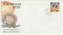 1978-10-18 IOM Christmas Stamp FDC (66439)
