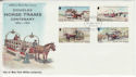 1976-05-26 IOM Horse Trams Stamps FDC (66444)
