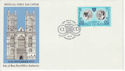 1973-11-14 IOM Royal Wedding Stamp Douglas FDC (66449)