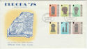 1978-05-24 IOM Europa Manx Crosses Stamps FDC (66460)