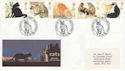 1995-01-17 Cats Stamps Catshill Worcestershire FDC (66468)