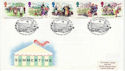 1994-08-02 Summertime Stamps Local Councils London FDC (66470)