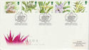1993-03-16 Orchids Stamps Glasgow Conference FDC (66473)