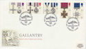 1990-09-11 Gallantry Stamps Liverpool FDC (66482)