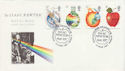 1987-03-24 Sir Isaac Newton Stamps Woolsthorpe FDC (66495)