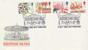 1983-10-05 British Fairs Stamps Goose Fair Nottingham FDC (66499