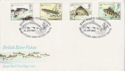 1983-01-26 River Fish Stamps River Itchen FDC (66501)