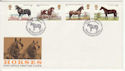 1978-07-05 Horses Stamps Shire Horse Maidenhead FDC (66524)