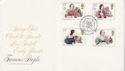 1980-07-09 Authoresses Stamps Haworth FDC (66525)