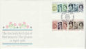 1986-04-21 Queens 60th Birthday Bruton St London FDC (66537)
